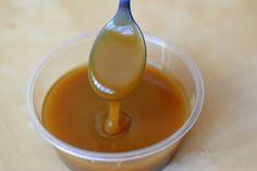 Palavras que enchem a barriga: Caramelo paleo (sem açúcar, sem leite).