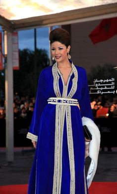 Leila hadioui Au Festival international du film de Marrakech 2012