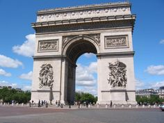 Arc de Triomphe is so beautiful and I can't wait to see how big it actually is. The small one in Vegas has satisfied me until now! :)