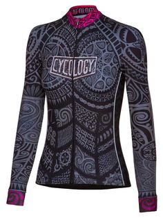 """""""One Tribe"""" women's long sleeve jersey from Cycology."""