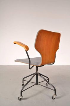 Office Chair by Isamu Kenmochi for Tendo, Japan, circa 1950 4