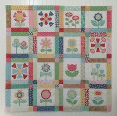 Bee In My Bonnet: BLOOM Sew Along - Week Sixteen - Block Sixteen!!