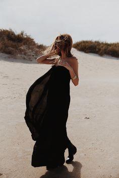 chiffon bustier dress