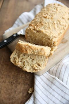 The best beer bread recipe - a no yeast quick bread recipe you can make in minutes!