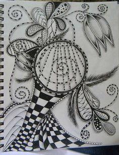 doodle of art