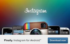 Instagram for android 2.1 free download Instagram For Android, Social Media, Free, Social Networks