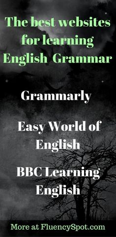 How to learn English grammar for free