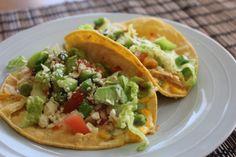 Crispy Buffalo Chicken Tacos
