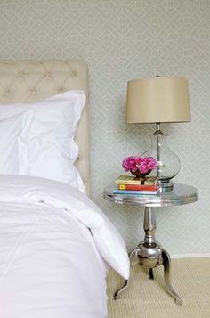 bryn alexandra: Clear Bedside Lamps