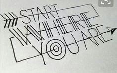 SCRITTA: Start where you are