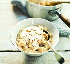 Soak these oats, with juicy raisins and warming cinnamon, overnight to help with your digestion – they'll also cook more quickly and have a creamier texture