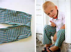TUTORIAL: KID Pants with POCKETS   MADE