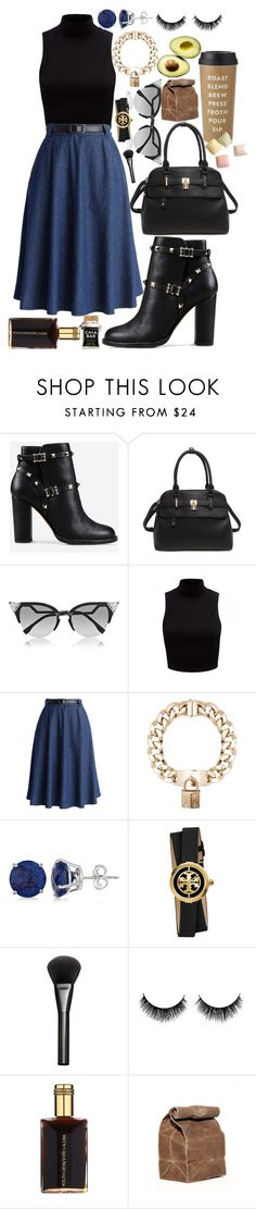 """""""Monday morning"""" by emarosa ❤ liked on Polyvore featuring Valentino, Fendi, Forever New, Chicwish, Givenchy, Allurez, Tory Burch, Gucci, Estée Lauder and Kate Spade"""