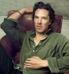 Benedict Cumberbatch by Annie Leibovitz