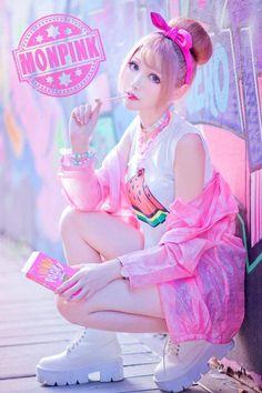 I love the outfit sM Japanese Street Fashion, Tokyo Fashion, Harajuku Fashion, Kawaii Fashion, Lolita Fashion, Cute Fashion, Harajuku Style, Korean Fashion, Ulzzang Girl Fashion