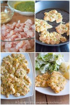 kotlety szarpane Whole Food Recipes, Dinner Recipes, Healthy Recipes, Health Eating, Italian Recipes, Food To Make, Chicken Recipes, Food Porn, Food And Drink