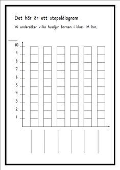 Problemlösning tabeller husdjur Classroom Inspiration, Primary School, Math Lessons, Teaching Math, Math Activities, Mathematics, Marie, Teacher, Chart