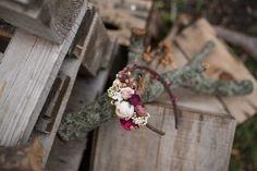 Haarbänder - Blumen Haarreif  - ein Designerstück von magaela bei DaWanda