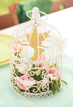 Magical Neverland Birthday Party {Peter Pan}-- borrow Mom's lantern and capture TInk!!! :)