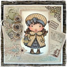 A PASSION FOR CRAFT: La La Land GD card ~ Paper Piecing