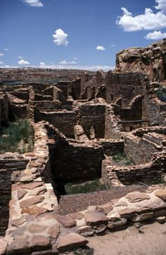 Chaco Canyon, New Mexico; photo by Charles Haire