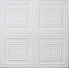 "ODESSA COPPER Metallic 20/"" x 20/"" Decorative Styrofoam Ceiling Tiles Glue Up"