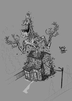141013 #AMonsterCalls A Monster Calls - Patrick Ness - J.A. Bayona