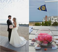 A warm breeze, sun-washed sand and rolling waves set the scene for this seaside love story.