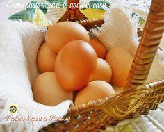 Come pastorizzare le uova in casa ricetta Biscotti, Ravioli, Sweet Life, Decorating Tips, Yogurt, Bakery, Deserts, Menu, Eggs