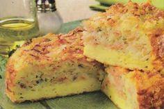 Receita de omelete de arroz
