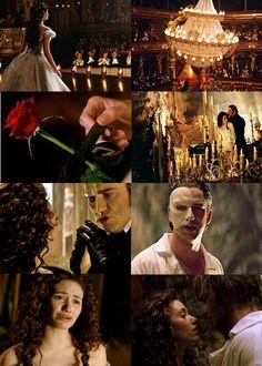 Phantom of the Opera 2004 movie starring Gerard Butler and Emmy Rossum