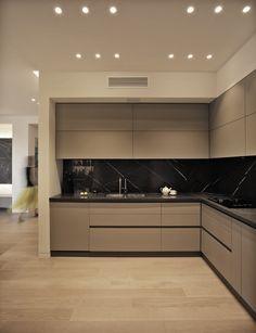 Design Living Room, Kitchen Room Design, Kitchen Cabinet Design, Home Decor Kitchen, Interior Design Kitchen, Modern Kitchen Designs, Luxury Kitchen Design, Diy Kitchen, Kitchen Storage