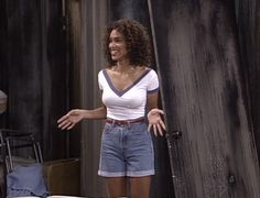 Karyn Parsons as Hilary Banks, Fresh Prince of Bel Air.