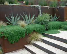 80 retaining wall design ideas – includes many chic + creative drought-tolerant options.