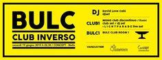 Al via BULC / club inverso
