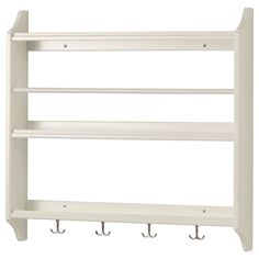 Stenstorp Plate Shelf, White