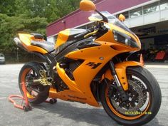 2006 Yamaha R1 Custom Paint Lamborghini Arancio Atlas Orange