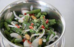 Salade van groene bonen - Volrecepten.nl