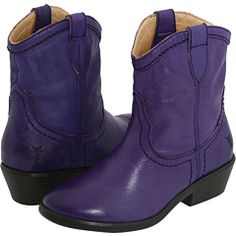 purple cowgirl boots!
