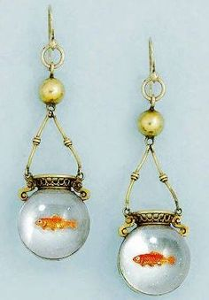 Circa 1870, these crystal #earrings feature reverse painting...thanks to Jewelry Nerd for sharing. https://www.facebook.com/AllKinzaStuf/photos/a.1113360918697562.1073741894.270963996270596/1136324219734565/?type=3