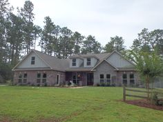 This Cheyenne Model home can be found in the Hattiesburg, MS community the Preserve.