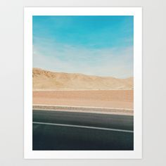 Road Ways 1 Art Print by happy mundane