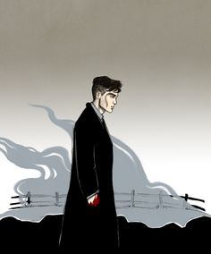 Cillian Murphy as Thomas Shelby of Peaky Blinders Six Of Crows, Pics, Red Right Hand, Peaky Blinders Poster, Crow, The Grisha Trilogy, Art, Fan Art, Amazing Drawings