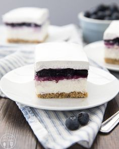 These no bake blueberry cheesecake bars are a perfect easy dessert. With a buttery graham cracker crust, creamy cheesecake layer, blueberry pie topping, and cool whipped cream to top it off! Cheesecake is one of my favorite desserts, and these no bake cheesecake bars are the perfect way to satisfy my craving without heating up...Read More »