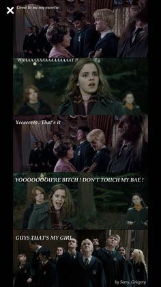 Im sorry Hermione IIve been so mean to you Draco No II d Fanfiction Harry Potter Anime, Harry Potter Hermione, Hermione Granger, Harry Potter Puns, Harry Potter Ships, Harry Potter Universal, Harry Potter World, Harry Potter Wattpad, Draco Malfoy Memes
