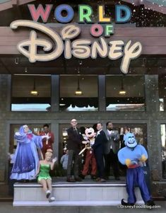Take a tour around the newly reopened World of Disney store in Disney Springs, which celebrates its official Grand Reopening today! Disney Food, Disney Cars, Baby Disney, Disney Trips, Disney Stuff, World Of Disney Store, Walt Disney World, Disney Stores, Cute Disney Pictures