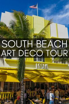 The ultimate guide to things to do in Miami Beach. 7 unmissable places to visit in South Beach Miami including a tour of the South Beach Art Deco district. Florida Travel Guide, Usa Travel Guide, Travel Usa, Travel Guides, Travel Tips, Travel Stuff, Visit Florida, Florida Vacation, Vacation Memories