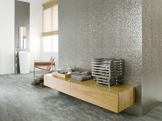 Porcelanosa Wall Tile Cubica Silver – Canaroma Bath & Tile