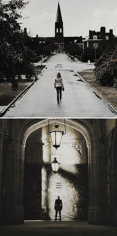 please don't go where i can't follow #dramione