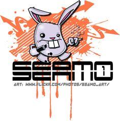 """SEAMO BUNNY"" STICKER NEW!! | Flickr - Photo Sharing!"